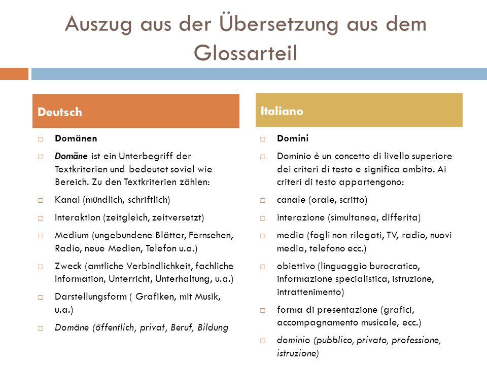 Auszug aus der Übersetzung aus dem Glossarteil Distraktoren Ein Multiple-Choice Item enthält drei bis vier Wahlmöglichkeiten, von denen eine die richtige Lösung ist; die anderen sind die Distraktoren, d.h.