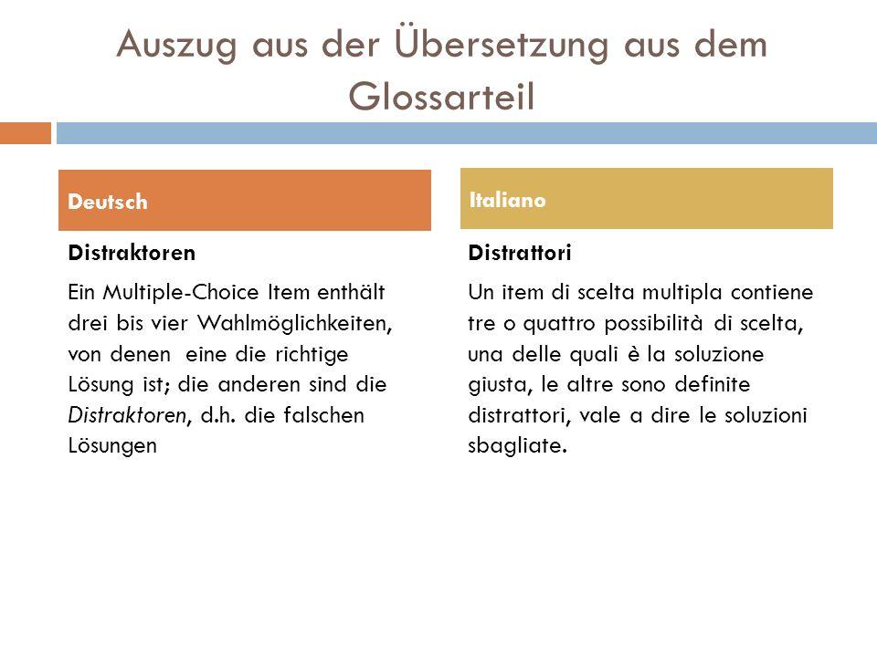 Übersetzungsschwierigkeiten  bei spezifischen Begriffen von Unterrichtsmethoden Z.B.: Stationenlernen (unübersetzt, bzw.