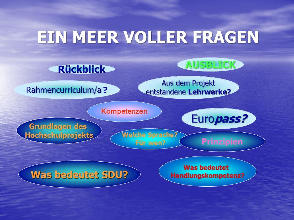 Rahmencurriculum/a Rahmencurriculum/a .Aus dem Projekt entstandeneLehrwerke.