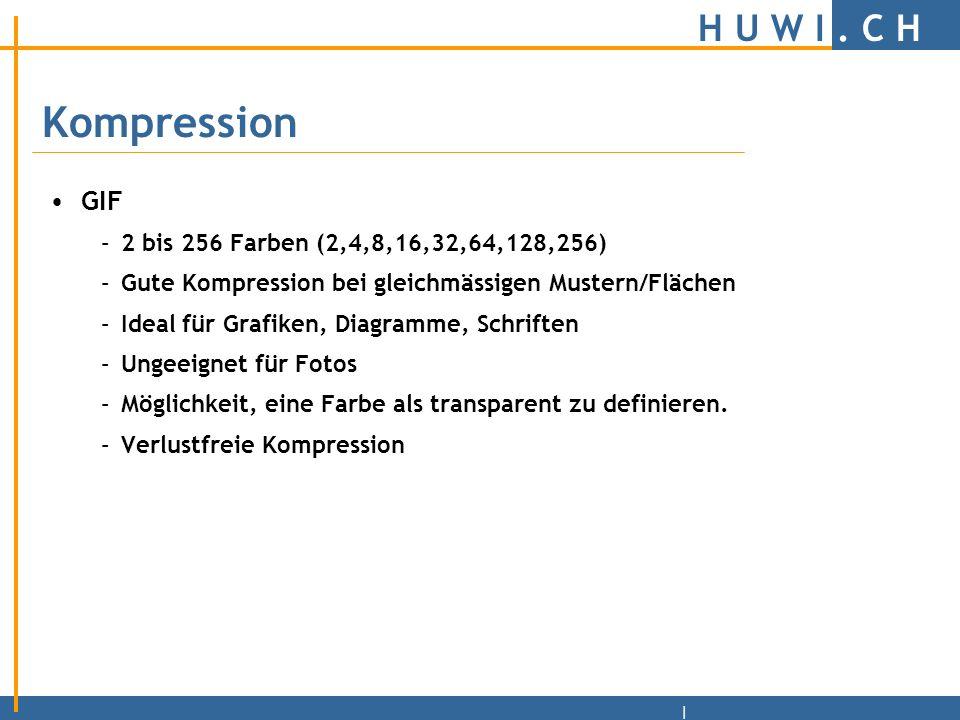H U W I.C H | 10 Todsünden beim Webdesign 1.