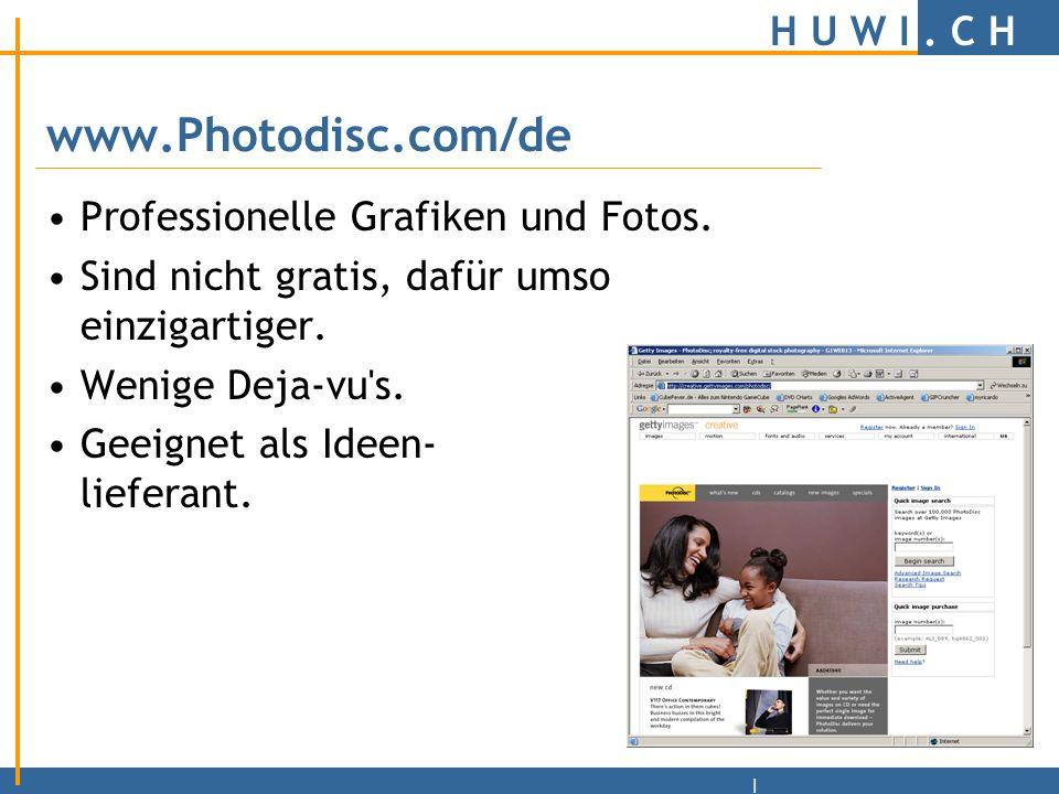 H U W I.C H | 10 Todsünden beim Webdesign 3. Ausgefranste und schlechte Bilder.