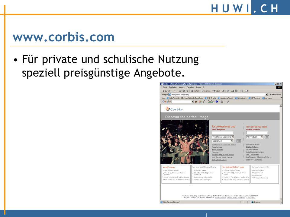 H U W I.C H | www.Photodisc.com/de Professionelle Grafiken und Fotos.