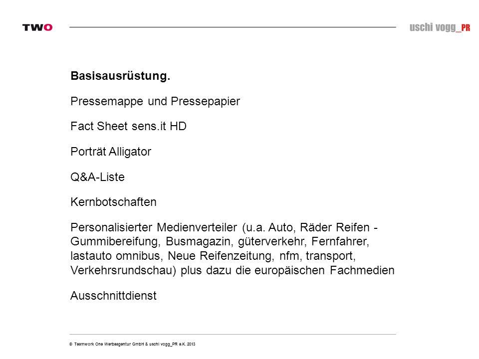 © Teamwork One Werbeagentur GmbH & uschi vogg_PR e.K.