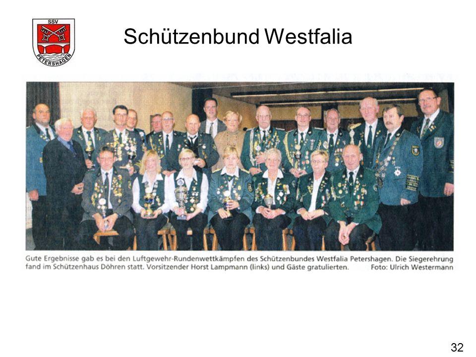 32 Schützenbund Westfalia