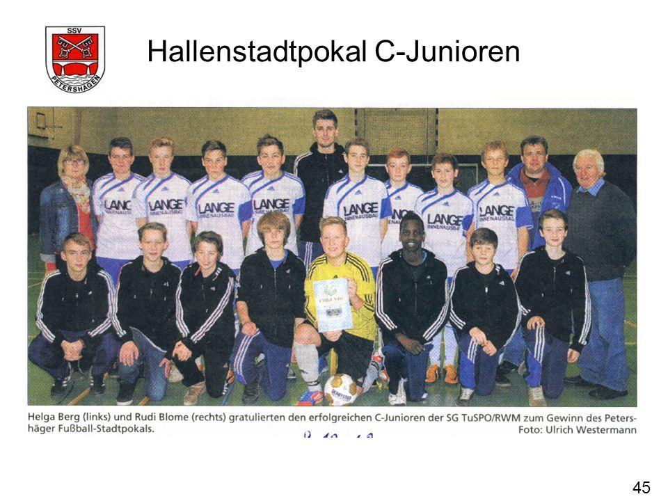 45 Hallenstadtpokal C-Junioren