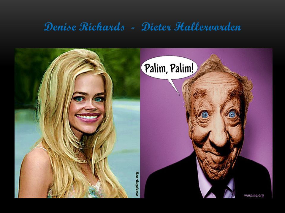 Denise Richards - Dieter Hallervorden