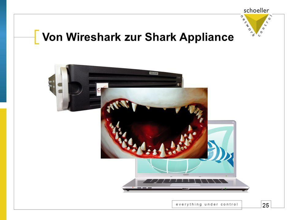 25 Von Wireshark zur Shark Appliance