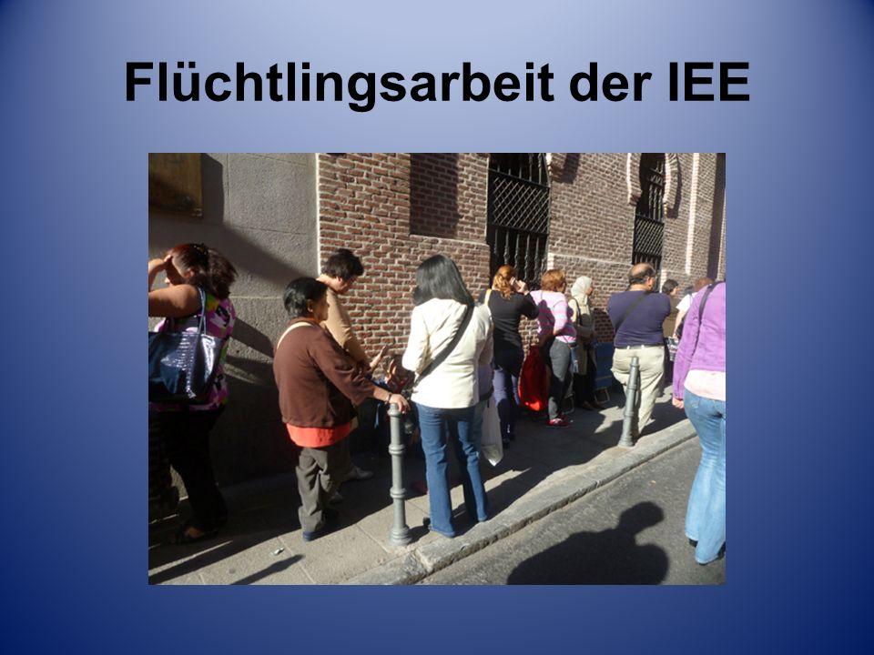 Flüchtlingsarbeit der IEE