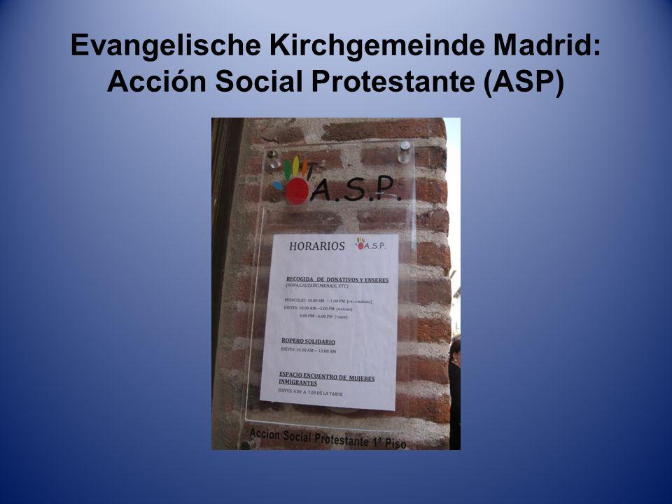 Evangelische Kirchgemeinde Madrid: Acción Social Protestante (ASP)