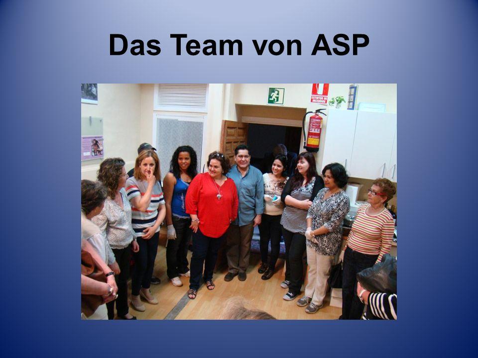 Das Team von ASP