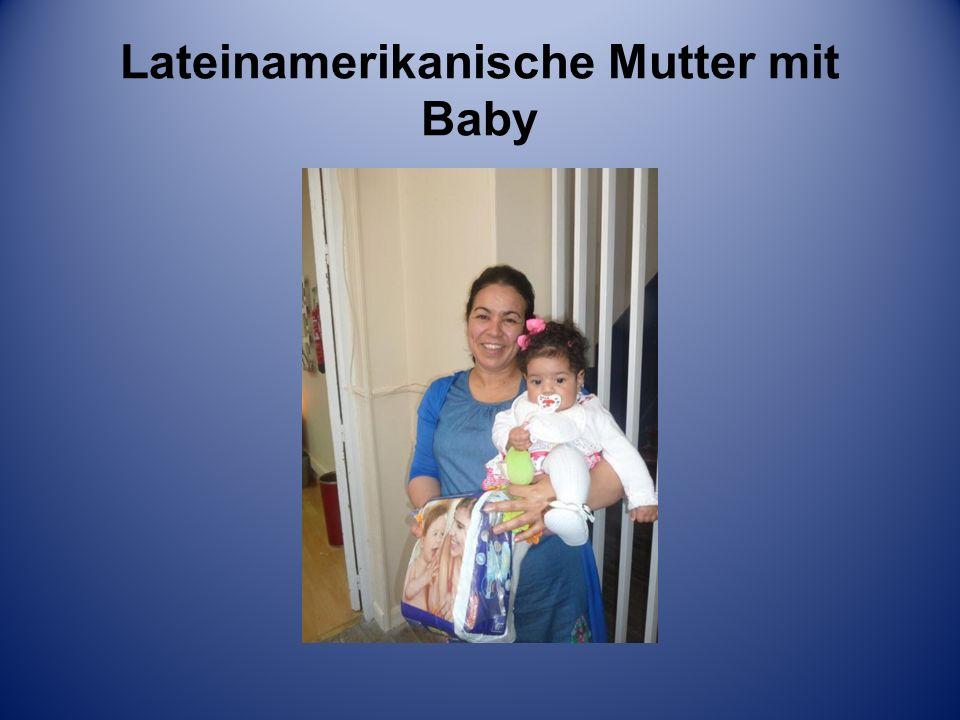 Lateinamerikanische Mutter mit Baby