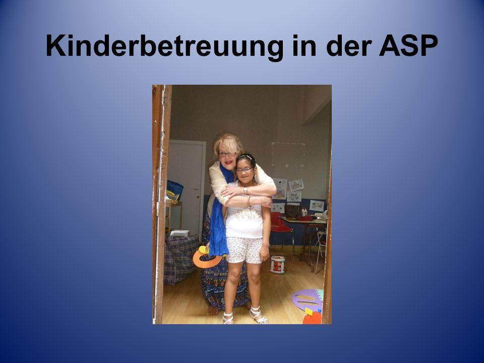 Kinderbetreuung in der ASP