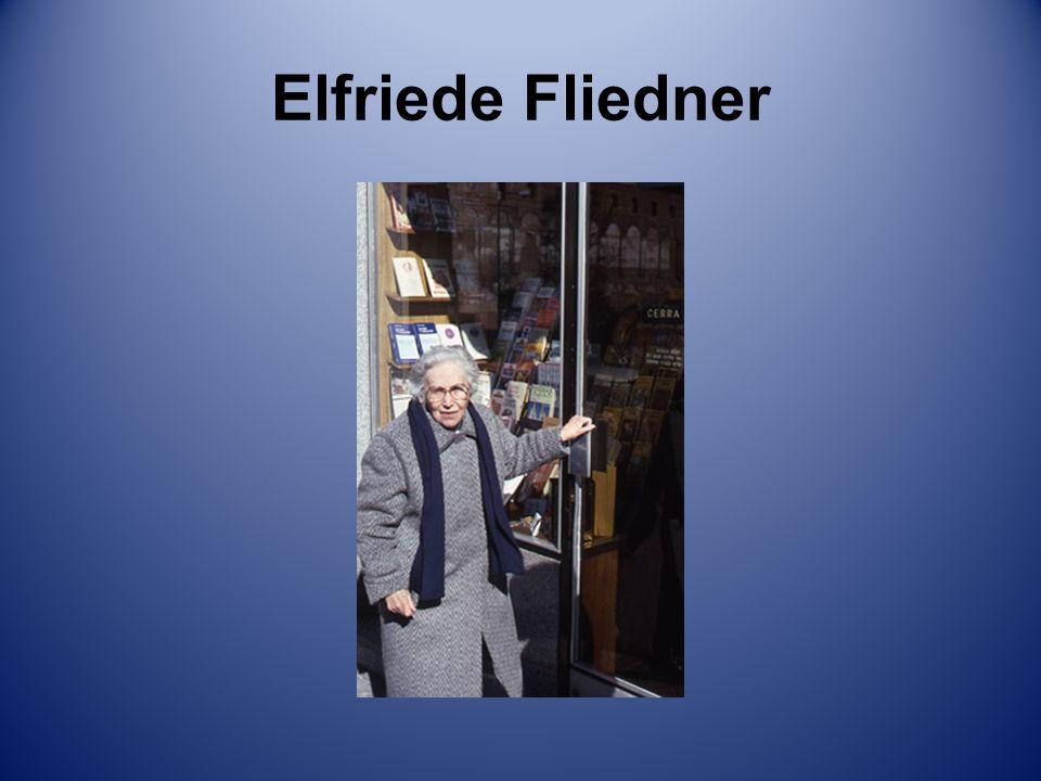 Elfriede Fliedner