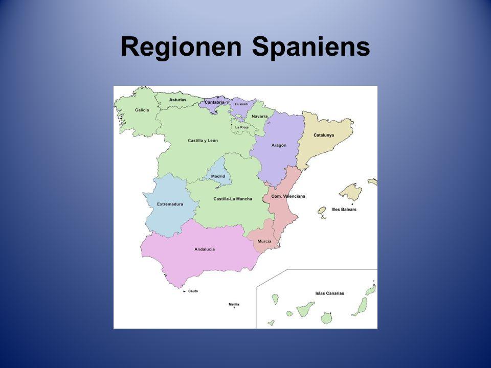 Regionen Spaniens
