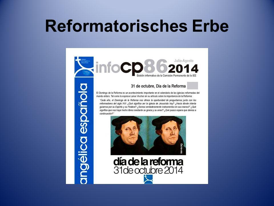 Reformatorisches Erbe