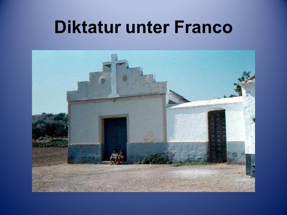 Diktatur unter Franco