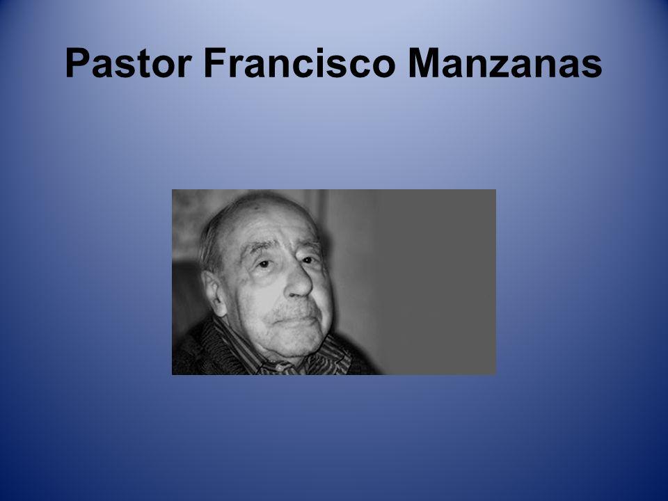 Pastor Francisco Manzanas