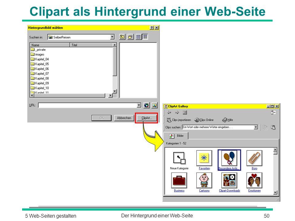 505 Web-Seiten gestaltenDer Hintergrund einer Web-Seite Clipart als Hintergrund einer Web-Seite