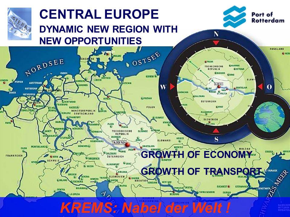 3 Mainport Europe  ± 80% der Ladung ist Transitverkehr  Wovon ± 100 million Tonnen zu/aus Deutschland
