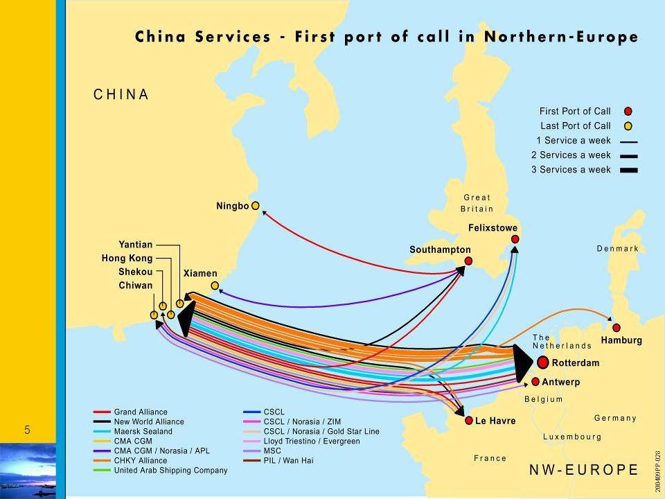 26 Maasebene 1 & 2 : Containerterminals Future container terminals Maasvlakte Total: ca 1.075 ha