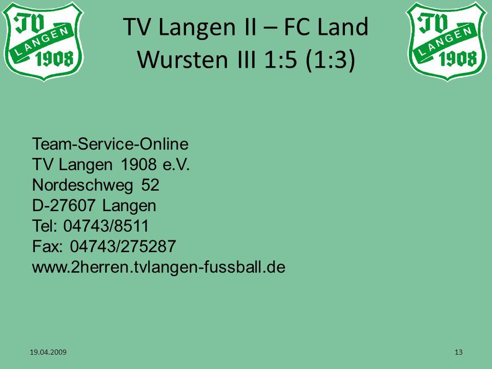 Team-Service-Online TV Langen 1908 e.V.
