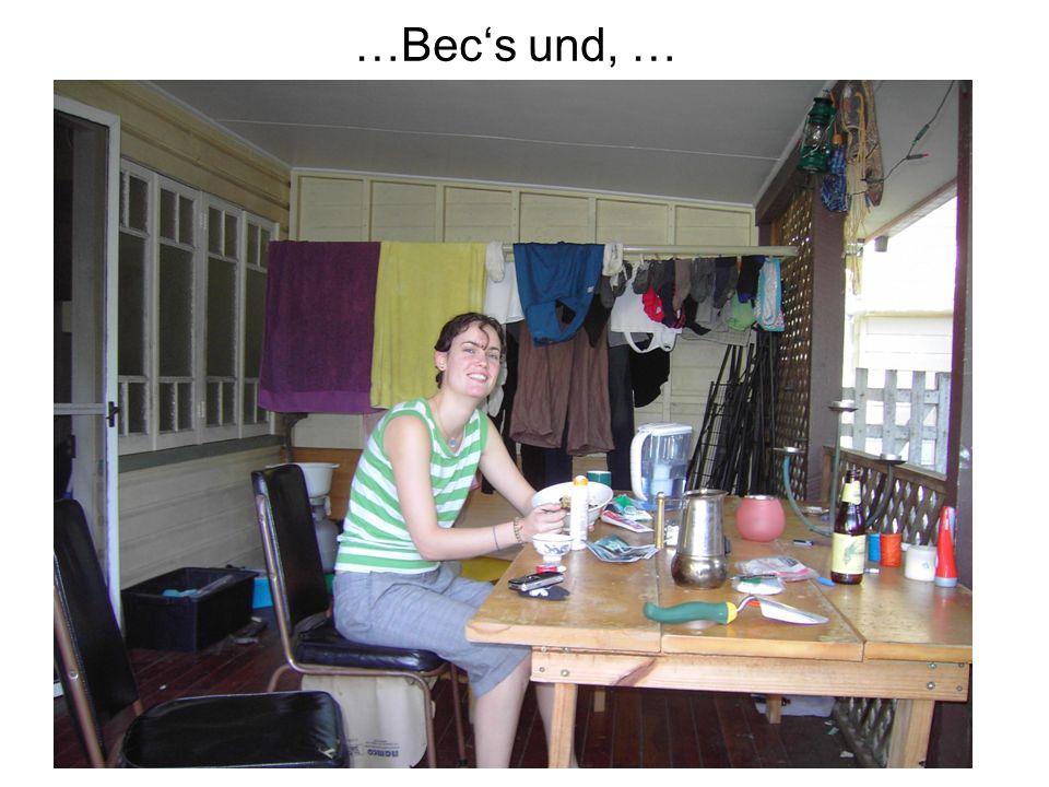 …Bec's und, …