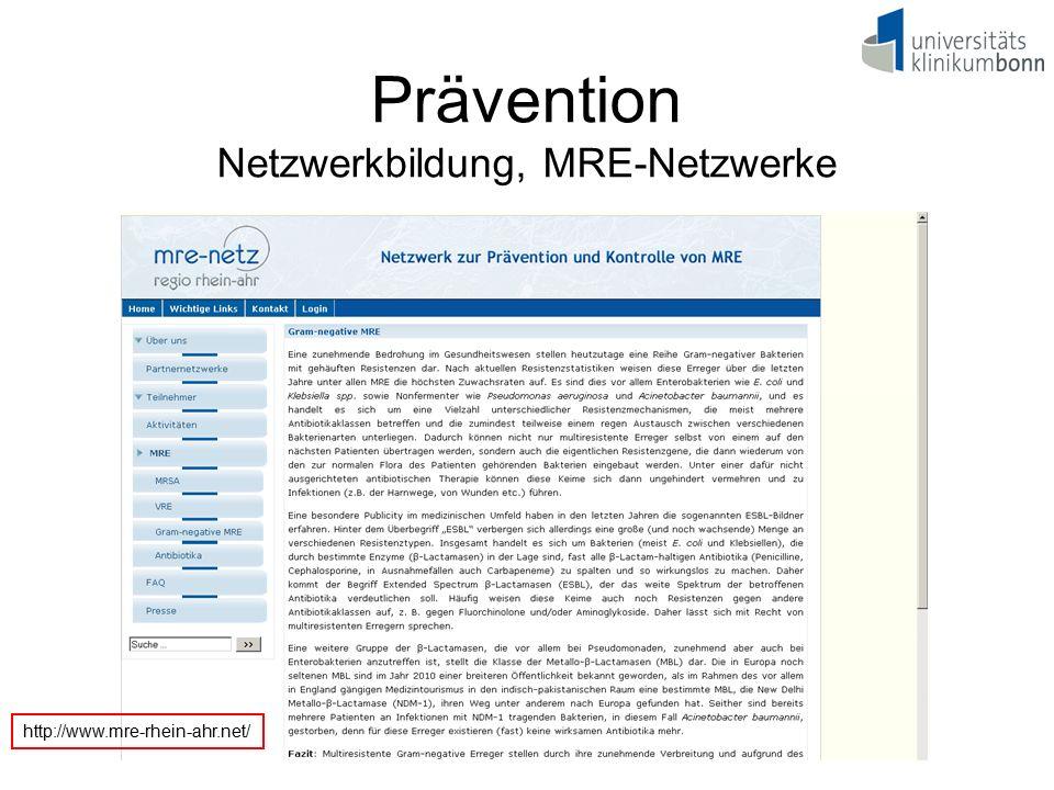 Prävention Netzwerkbildung, MRE-Netzwerke http://www.mre-rhein-ahr.net/