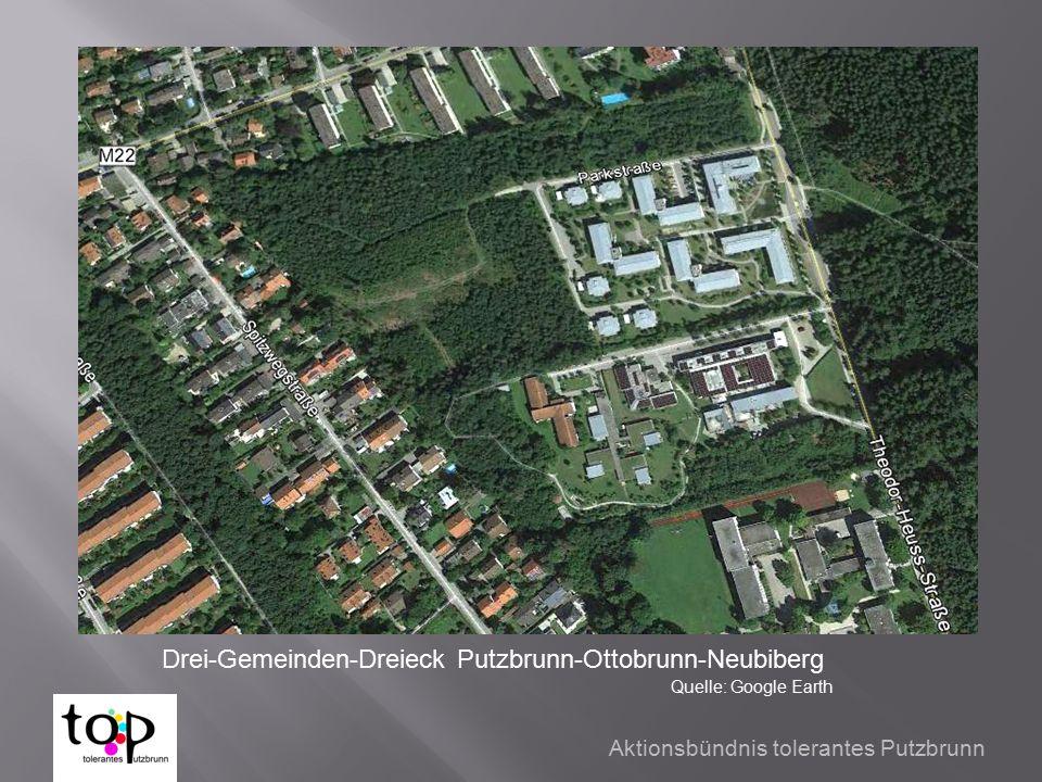 Drei-Gemeinden-Dreieck Putzbrunn-Ottobrunn-Neubiberg Quelle: Google Earth