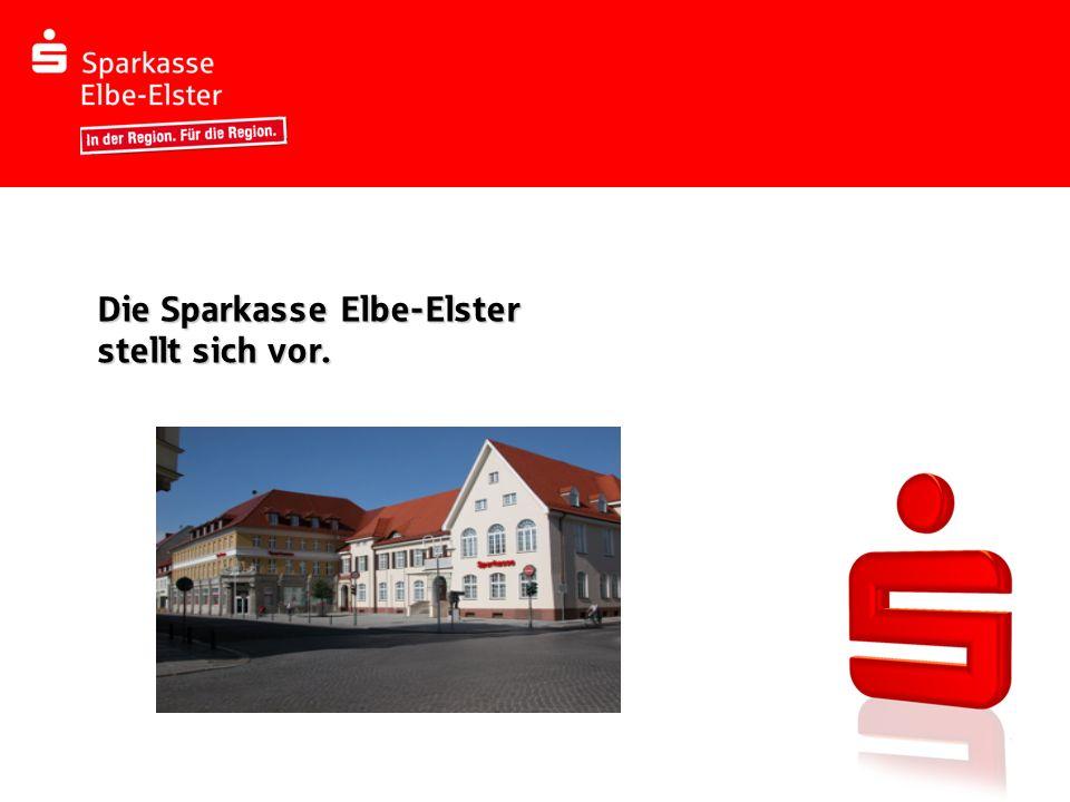 Die Sparkasse Elbe-Elster stellt sich vor.
