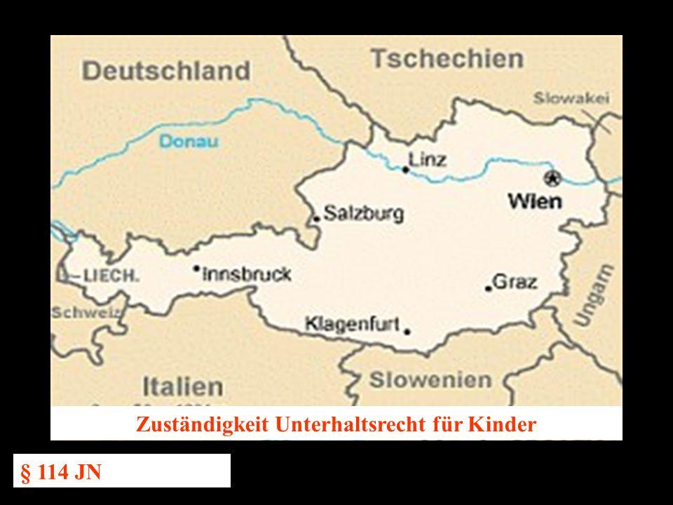 14.10.2005 Dr. Günter Tews Zuständigkeit Unterhaltsrecht für Kinder § 114 JN