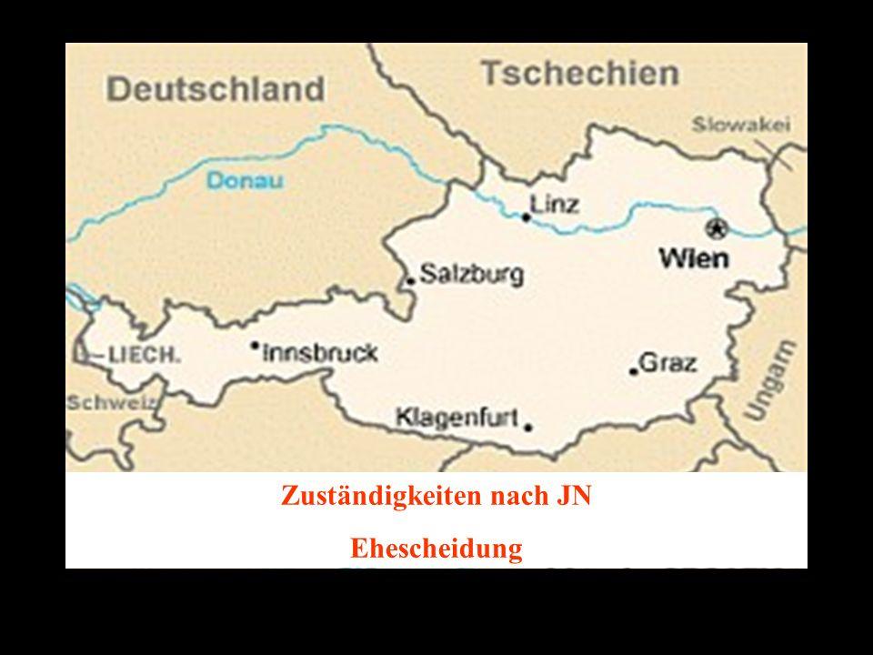 14.10.2005 Dr. Günter Tews Zuständigkeiten nach JN Ehescheidung