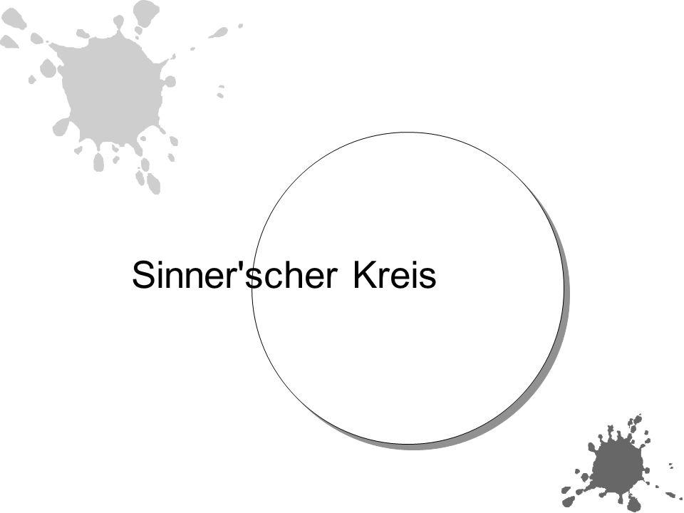 Die 4 Faktoren im Sinner schen Kreis