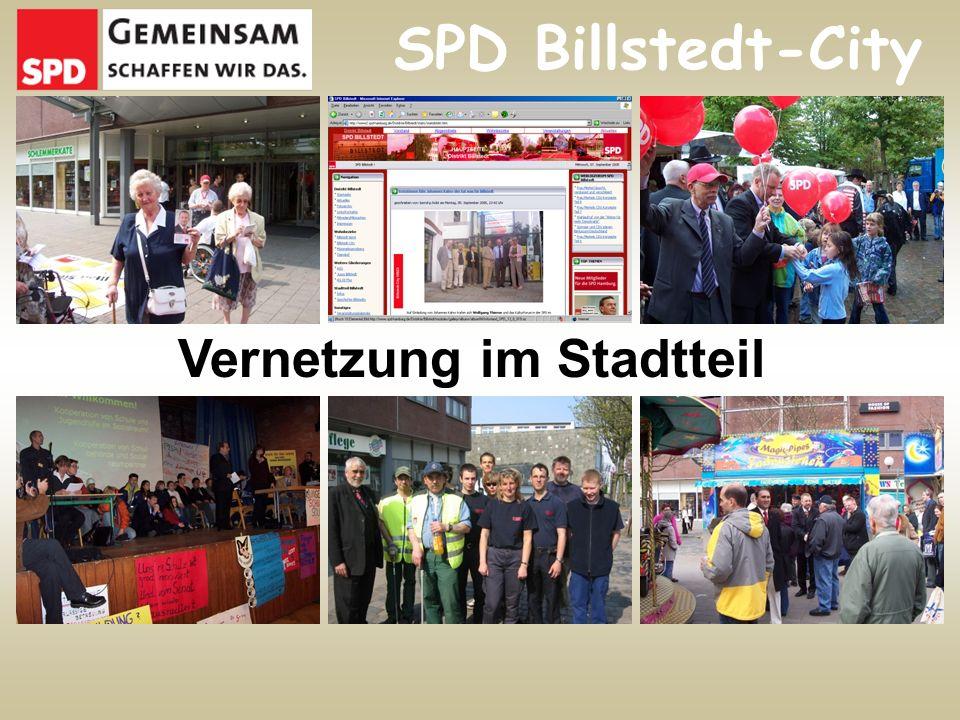 Vernetzung im Stadtteil SPD Billstedt-City
