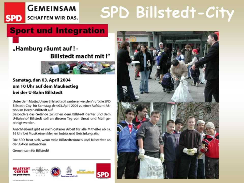 SPD Billstedt-City Sport und Integration