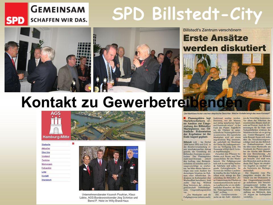 Kontakt zu Gewerbetreibenden SPD Billstedt-City
