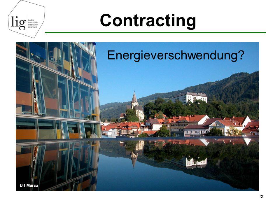 Contracting 6 z.B. KAGES – Stromverbrauch hat sich zwischen 1990 und 2004 verdoppelt.