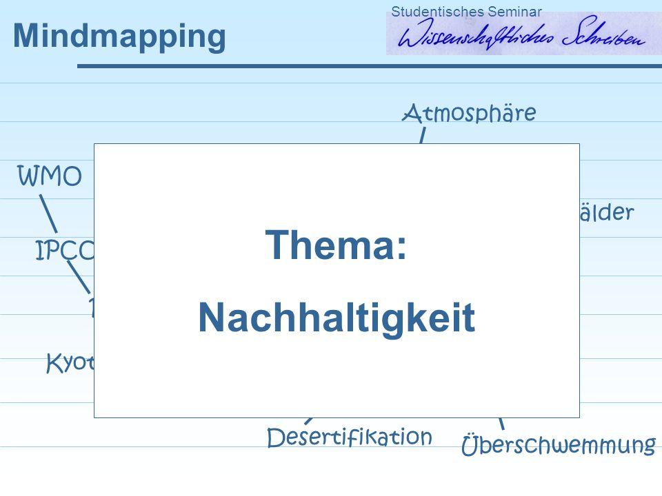 weitere Techniken Studentisches Seminar Freies Schreiben (free-writing) Fragen Rollenwechsel Dialoge