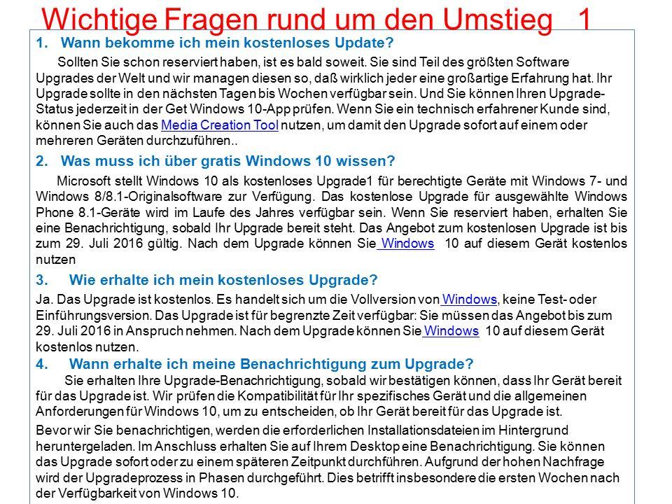 Literatur-Nachweis: Buch über Windows 10 Erhältlich: Buchverlag Lüthi im Glattzentrum Der verständliche Einstieg Autor: Mareile Heiting Kosten: Fr.