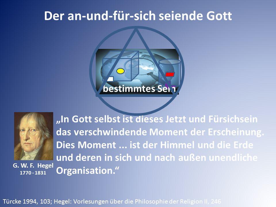"""G. W. F. Hegel 1770 - 1831 """"In Gott selbst ist dieses Jetzt und Fürsichsein das verschwindende Moment der Erscheinung. Dies Moment... ist der Himmel u"""