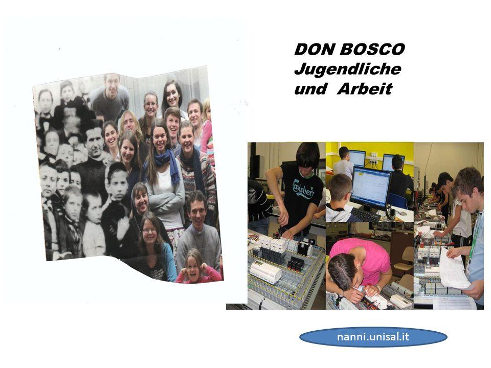 DON BOSCO Jugendliche und Arbeit nanni.unisal.it