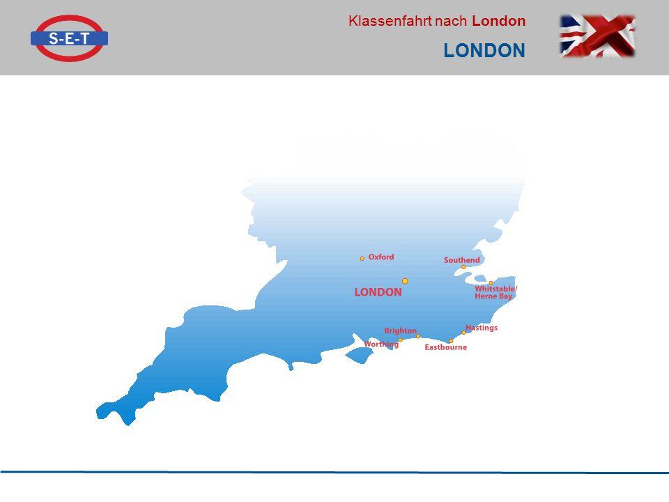 Klassenfahrt nach London LONDON