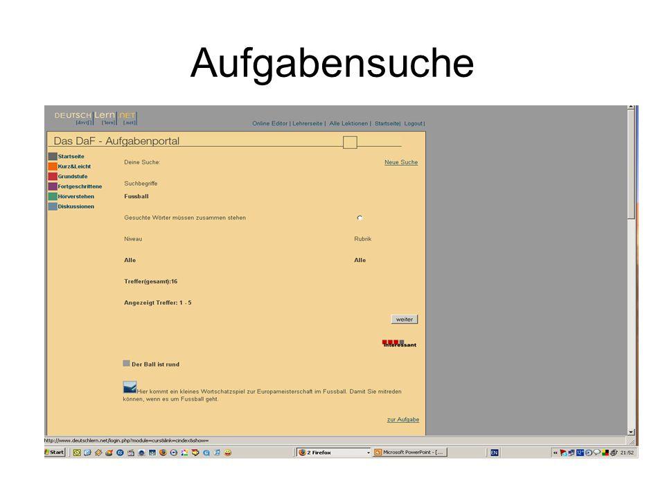 DEUTSCHLERN.NET bietet auch die Möglichkeit von Hörverstehen an.