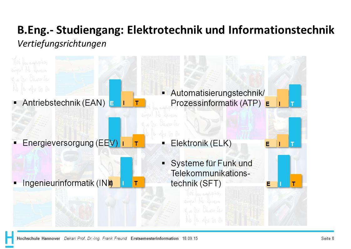 Hochschule Hannover Dekan Prof.Dr.-Ing.