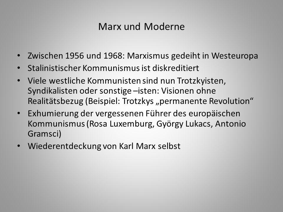 Das unvermutete Sterben des Proletariats Zentraler Anspruch der historischen Linken in Europa: Speerspitze des Proletariats Nun gibt es Alternativen: anti-kolonialistische Nationalisten in der Dritten Welt, schwarze Radikale in den USA, Bauernguerillas überall Ergo: Wir Studierenden, die Jungen, repräsentieren die neue und eigentliche kommunistische Bewegung Fusion von Lifestyle und Marx: Anarchistische Studierendenzeitung in Mailand (1968): Proletarische Jugendliche Europas, Jimi Hendrix vereint uns!