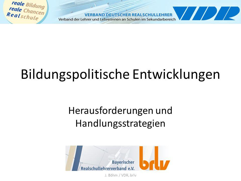 """LEHRERTAGUNG """"Bildungssystem ist in Gefahr BINGEN - """"Wir brauchen eine Reform der Ehrlichen , fordert Jürgen Böhm."""