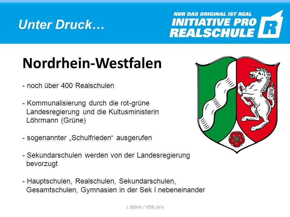 Schuljahr 2013/14 Gymnasium: 32,3 % Realschule: 33,0% Mittelschule: 27,2 % J. Böhm / VDR, brlv