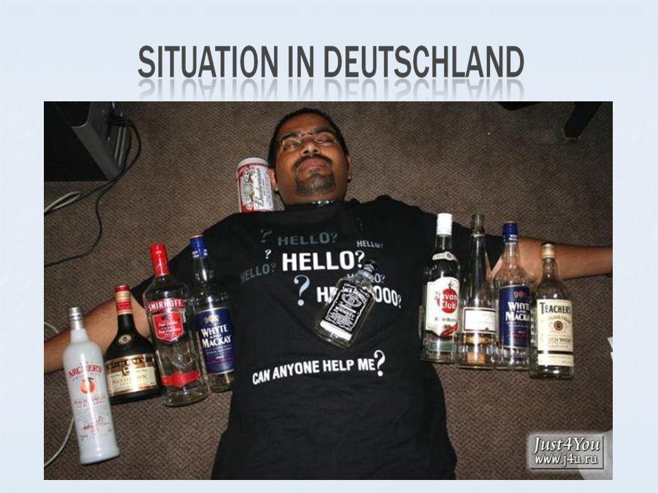 In Deutschland gibt es rund 9,3 Millionen Menschen, die einen riskanten Alkoholkonsum betreiben, darunter 30 Prozent Frauen.