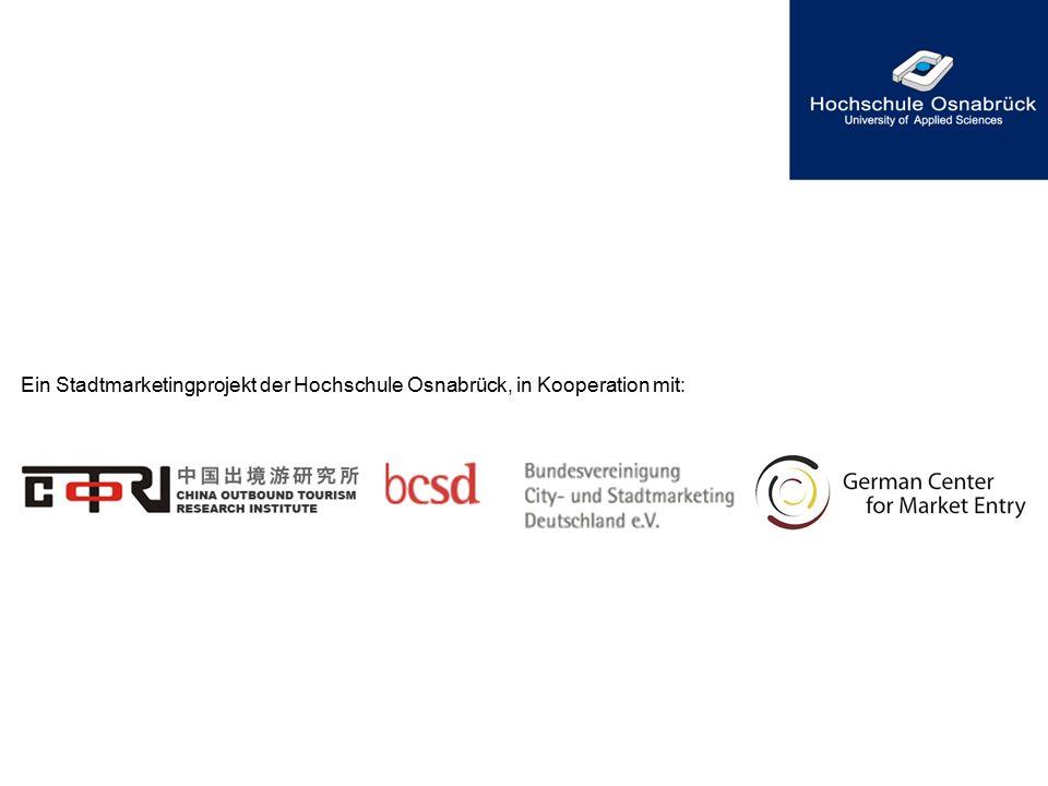 Ein Stadtmarketingprojekt der Hochschule Osnabrück, in Kooperation mit: