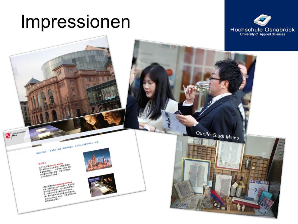 Impressionen Quelle: Stadt Mainz