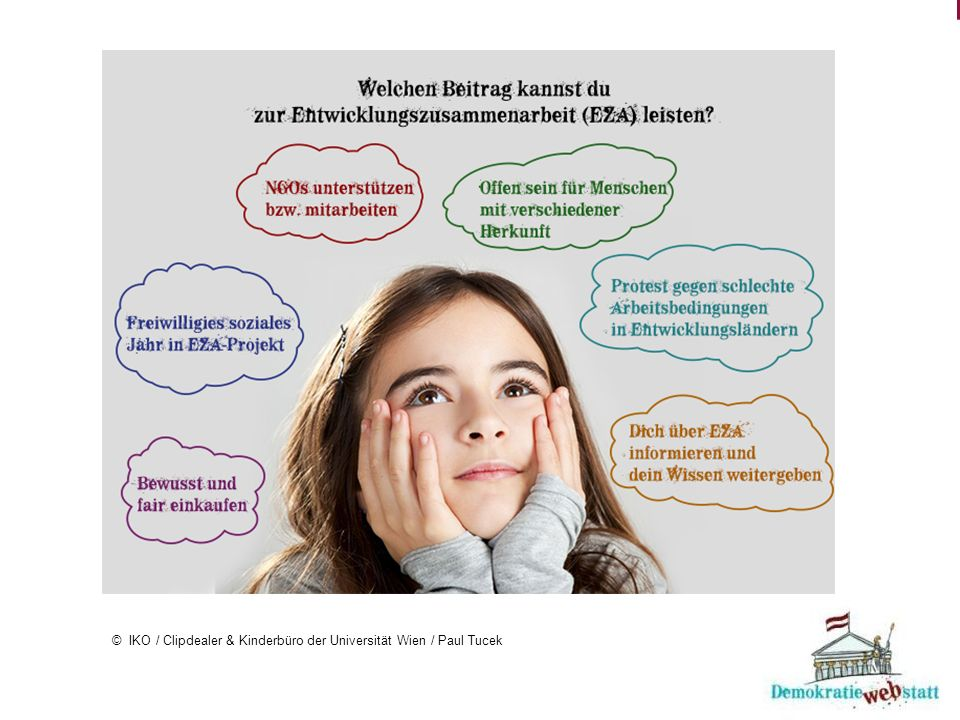 © IKO / Clipdealer & Kinderbüro der Universität Wien / Paul Tucek